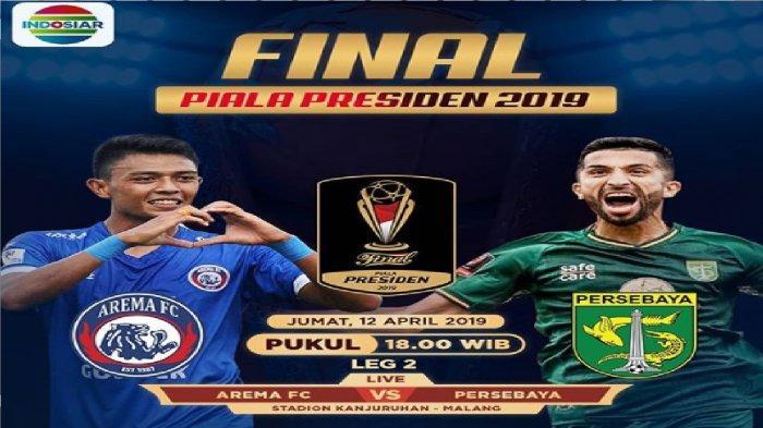 Cuplikan Gol Arema FC vs Persebaya di Babak Pertama Final Piala Presiden 2019 Skor 1-0