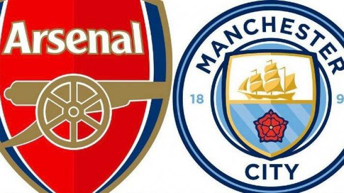 Susunan Pemain Arsenal vs Man City Liga Inggris Live Net TV & TV Online Mola TV, Aubameyang Main