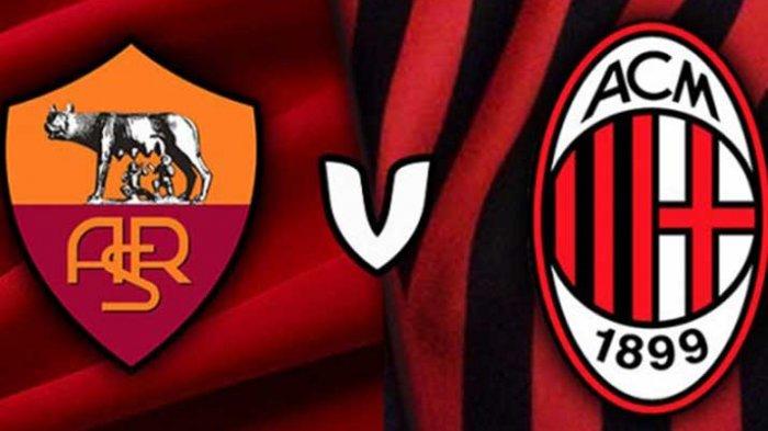 Jadwal Siaran Langsung AS Roma Vs AC Milan Malam Ini di Liga Italia Pekan 26 - Ujian Serigala!