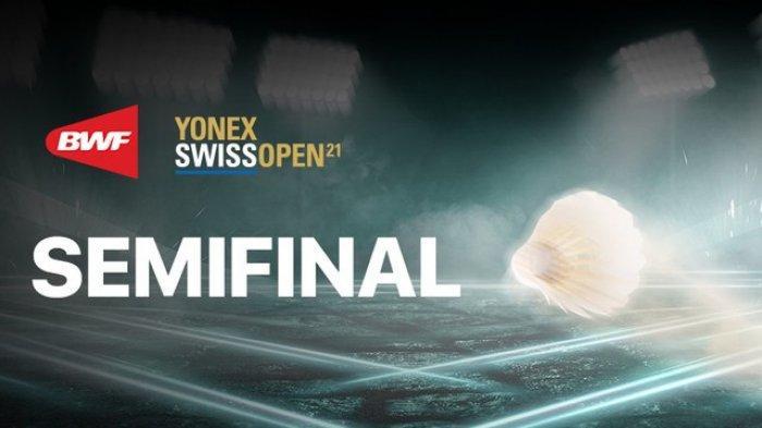 BERLANGSUNG Link TVRI Swiss Open 2021 Babak Semifinal di Live Streaming Usee TV dan Youtube BWF