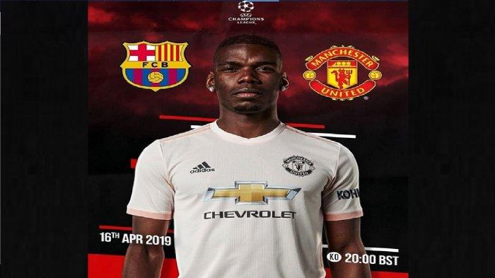 Live Streaming Barcelona vs Manchester United Liga Champions di RCTI - Waspada Comeback MU Malam Ini