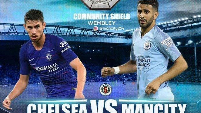 LINK Nonton TV Online Chelsea vs Man City Liga Inggris Malam Ini Live Mola TV Jam 18.30 WIB