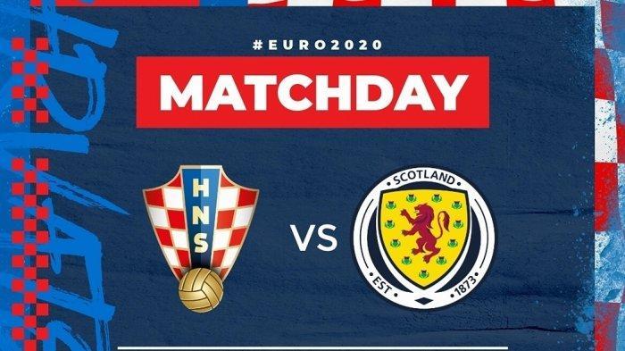 Link Nonton Streaming Euro 2021 Kroasia vs Skotlandia Live TV Online Mola, Tidak Disiarkan MNC TV