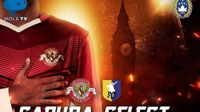Berlangsung! Live Streaming Mola TV Garuda Select vs Mansfield U18 via Aplikasi TV Online Mola TV