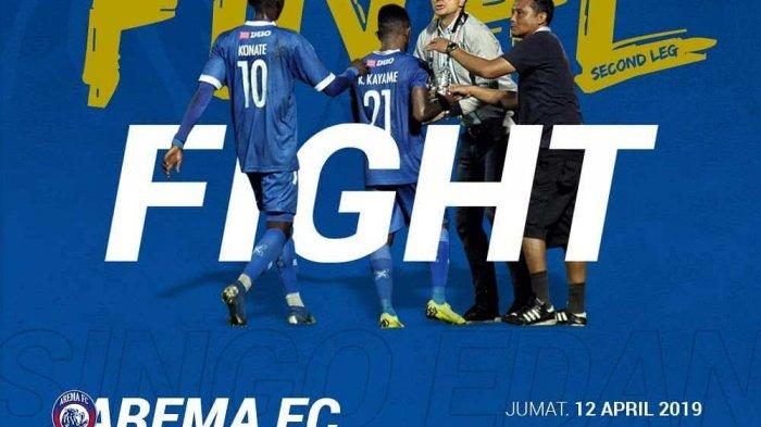 Hasil Arema FC vs Persebaya Final Piala Presiden 2019, Skor Babak Pertama 1-0, Arema Diambang Juara