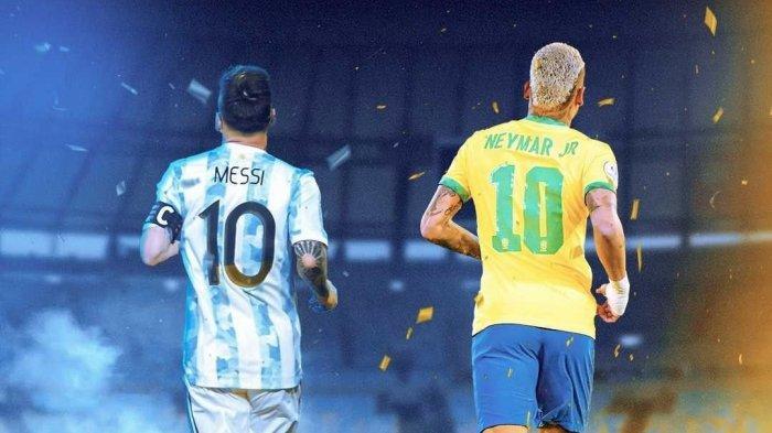Top Skor & Pemain Terbaik Copa America 2021, Lionel Messi Ungguli Neymar