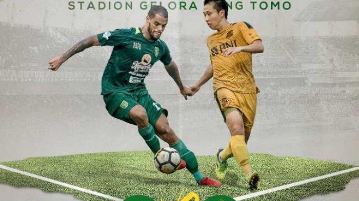 Hasil akhir Persebaya vs Bhayangkara FC, Skor Akhir 1-0, Bajul Ijo Melonjak di Klasemen Liga 1