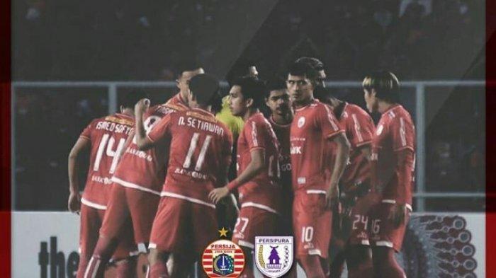 3 Link Live Streaming Indosiar Persija vs Persipura Liga 1 2018 via Vidio.com Malam Ini 20.30 WIB
