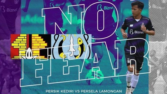 Berlangsung! Link Streaming TV Online Indosiar Persik vs Persela Live Piala Menpora, Ini Line Up-nya