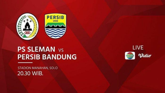 Link Streaming TV Online Indosiar PSS vs Persib Live Piala Menpora 2021 Hari Ini Jam 20.30 WIB