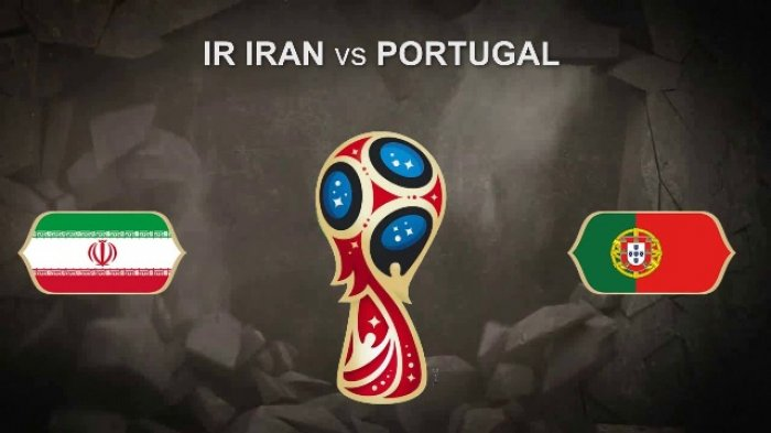 Jadwal Live Trans7 & Cara Nonton Live Streaming Iran vs Portugal di Grup B Piala Dunia 2018