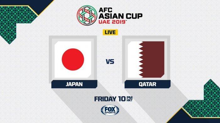 Live Fox Sports! Siaran Langsung Jepang vs Qatar di Final Piala Asia 2019, Tonton dengan Cara Ini