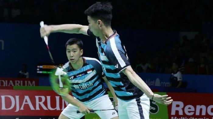 SEDANG BERLANGSUNG! Link Live Streaming Semifinal China Open 2018 Marcus/Kevin Vs Han/Zhou