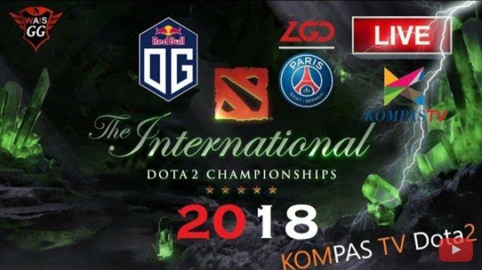 SEDANG BERLANGSUNG! Live Streaming Kompas TV Final The International Dota 2 2018 OG vs LGD