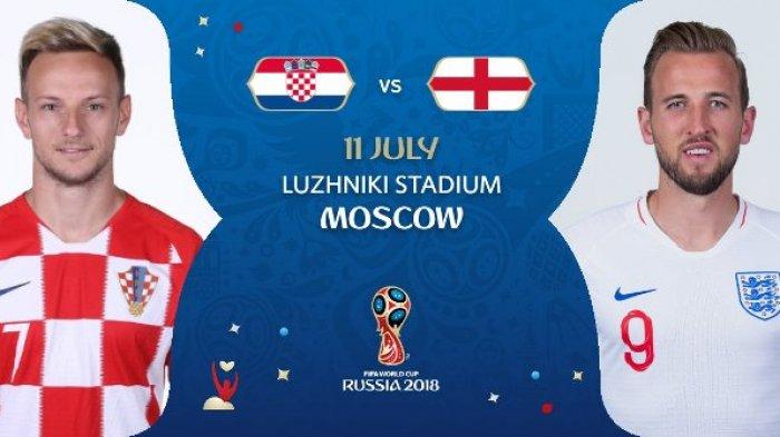 Live Trans TV & Trans7! Live Streaming Kroasia vs Inggris Semifinal Piala Dunia 2018, Ini Caranya