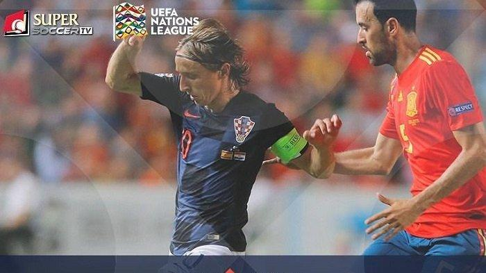 Link Live Streaming Kroasia vs Spanyol - Live Streaming My Supersoccer.tv UEFA Nations League 2018