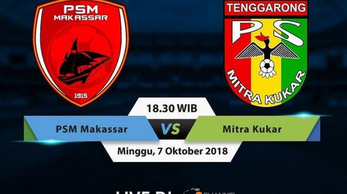 LINK LIVE STREAMING OChannel Mitra Kukar vs PSM Makassar Liga 1 2018 - Siaran Langsung O Channel