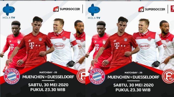 Sesaat Lagi Live Streaming Mola Tv Muenchen Vs Duesseldorf Bundesliga Jerman Tv Online Fox Sports Banjarmasin Post