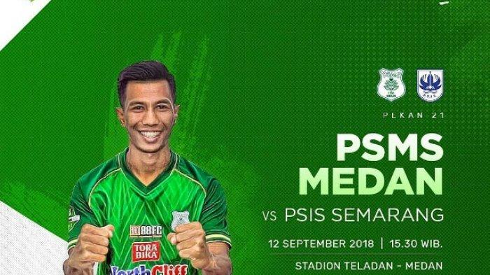 SEBENTAR LAGI! Live Streaming PSMS Medan vs PSIS Semarang - Link Indosiar & vidio.com di Sini