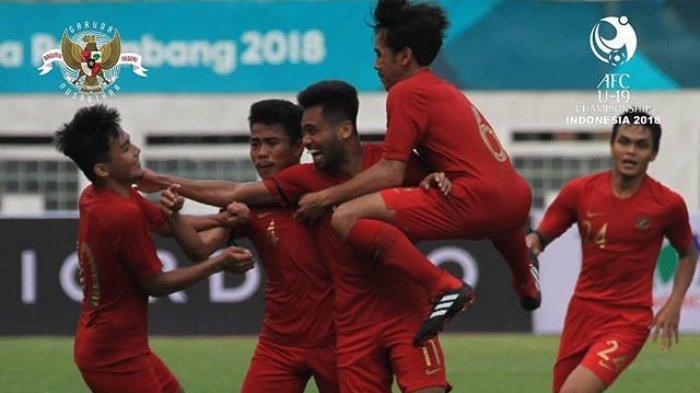 SEDANG BERLANGSUNG Live Streaming Timnas U-19 Indonesia vs Jepang via Live RCTI Piala AFC U-19 2018