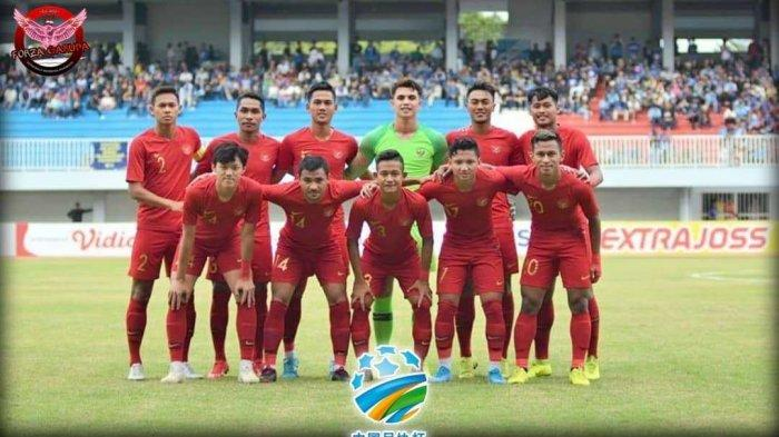 Link Live Streaming RCTI Timnas U-23 Indonesia vs China Malam Uni, CFA Internasional Football 2019