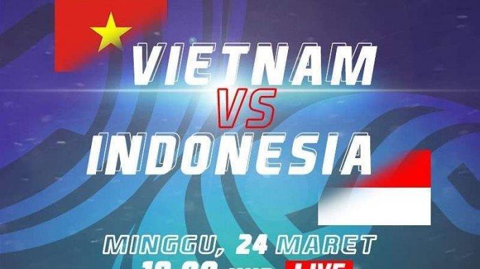 Klasemen Grup K Kualifikasi Piala Asia U-23 2020 Sebelum Timnas U-23 Indonesia vs Vietnam Selesai