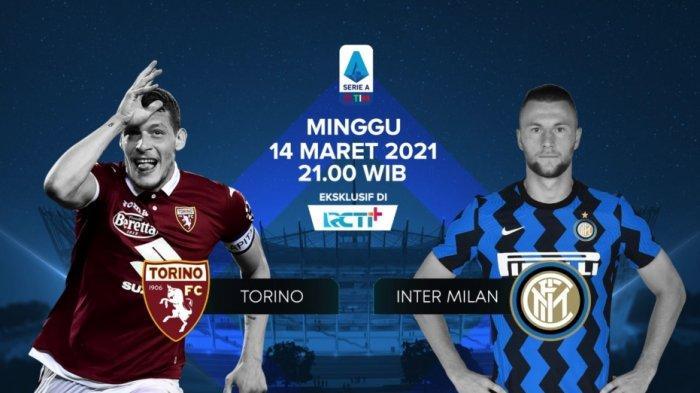 LINK Live Streaming RCTI Torino vs Inter Milan di TV Online Bein Sports 2 Liga Italia, Lukaku Main