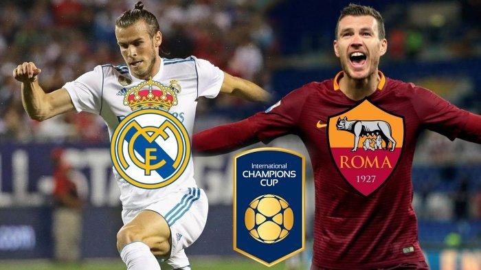 SEDANG BERLANGSUNG! Link Live Streaming TVRI INews Real Madrid vs AS Roma ICC 2018