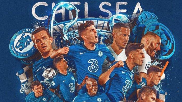 Link TV Online SCTV Nonton Live Streaming Chelsea vs Real Madrid Liga Champion Mulai 02.00 WIB