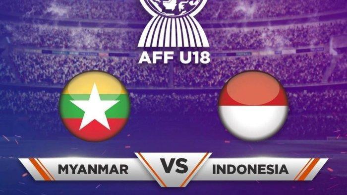 Indonesia Juara Grup A! Hasil Akhir Timnas Indonesia U-18 Vs Myanmar Piala AFF U-18, Skor Akhir 1-1