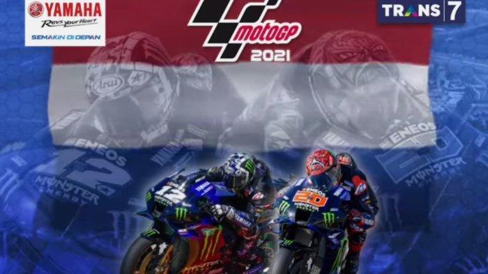 LINK Nonton TV Online MotoGP Aragon 2021, Siaran Langsung Trans7 Race MotoGP & Live Fox Sports 2