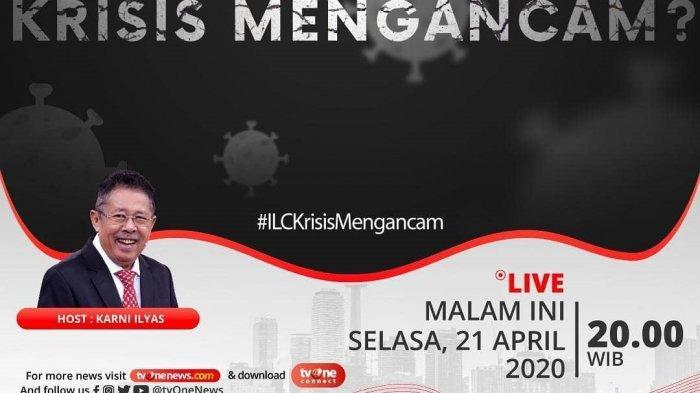 Sekarang Video Live Streaming Tv One Ilc Bahas Krisis Akibat Corona Via Youtube Tv One Banjarmasin Post