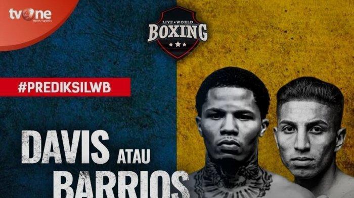 Hasil Tinju Dunia Hari Ini Gervonta Davis vs Mario Barrios Berakhir KO di Ronde 9, Davis Catat Rekor