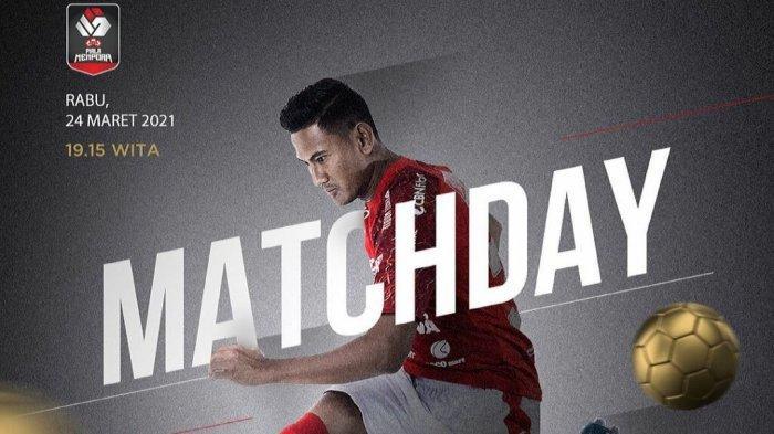 Berlangsung! Link TV Online Streaming Persib vs Bali United Live Indosiar Piala Menpora 2021