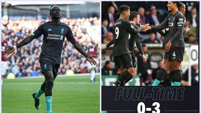 Liverpool Kokoh di Puncak Klasmen Liga Inggris, Pesta 3 Gol ke Gawang Burnley
