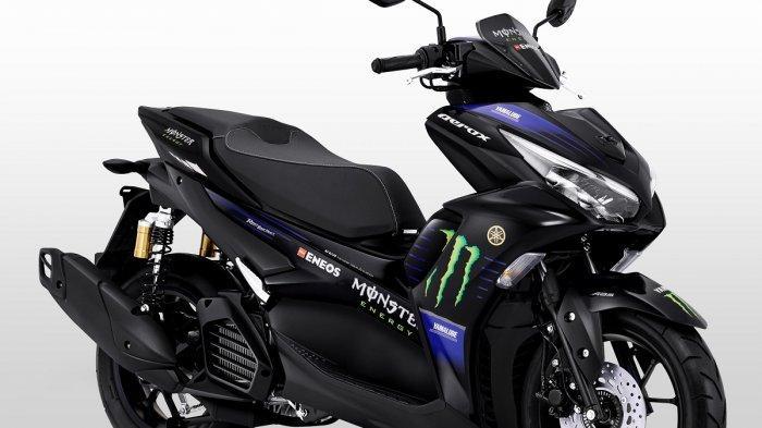 Semakin Sporty, Yamaha Luncurkan All New Aerox 155 Connected MotoGP Edition