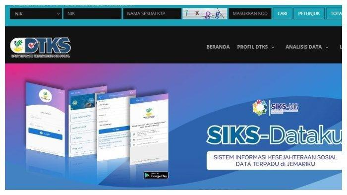 Link Login Dtks Kemensos Go Id Untuk Penerima Bansos Tunai Rp 300 Ribu Diperpanjang Tahun 2021 Halaman All Banjarmasin Post