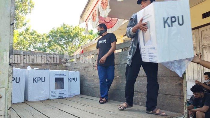 Logistik Sudah Didistribusikan, KPU Banjarmasin Siap GelarPSUPilgub Kalsel