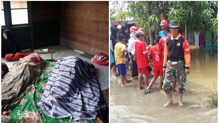 Rumahnya Kebanjiran, Rasyidi Tewas Kesetrum, Sang Anak Ikut Jadi Korban Saat Akan Menolong