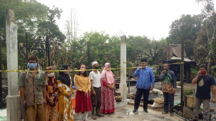Bantuan Sosial Mengalir pada Korban Terdampak Kebakaran di Desa Bungin Balangan