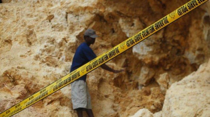 Penertiban Galian Batu Putih di Desa Madang Padang Batung HSS Tak Ada Tindak Lanjut, Jalan Rusak?
