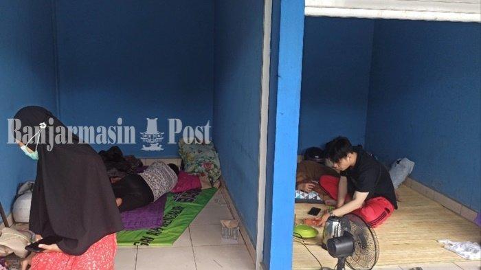 Banjir di Kalsel 2021, Masker Akan Dibagikan untuk Pengungsi di Terminal Km 6 Banjarmasin
