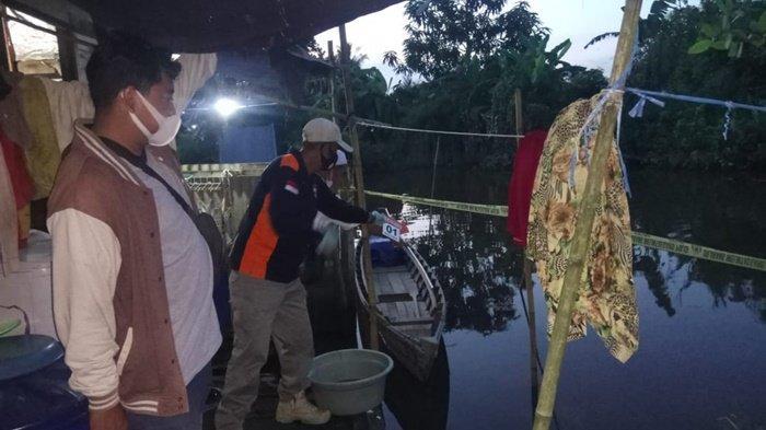 Pembunuhan di Kalsel, Warga Sungai Gampa Ini Benamkan Kepala Istri di Air Hingga Tewas