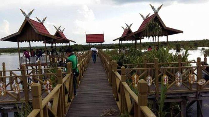 Tag Palangkaraya Objek Wisata Air Hitam Dijejali Pengunjung Saat Libur Tahun Baru Banjarmasin Post