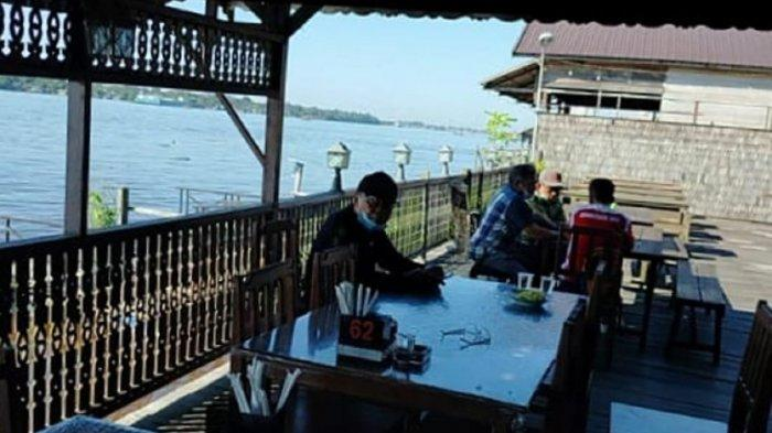 Sediakan Makanan Khas Sampit Kotim, Wisata Kuliner Bermunculan di Bantaran Sungai Mentaya