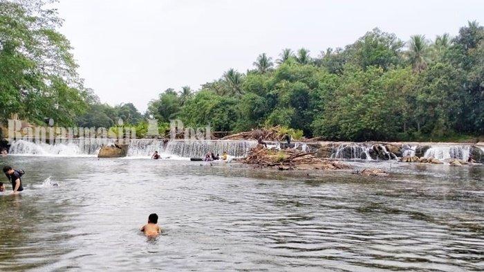 Lokasi wisata Manggasang Kabupaten Hulu Sungai Utara (HST), Kalimantan Selatan, beberapa waktu lalu. (banjarmasinpost.co.id/eka pertiwi)