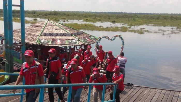 Wisata Kalteng, Susur Sungai Kereng Bengkirai Palangkaraya Sering Dipakai Organisasi dan Pemerintah