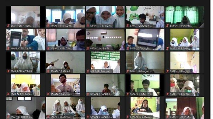 40 Tim Ikuti Lomba Cerdas Cermat Matematika Tingkat SMA di STKIP PGRI Banjarmasin