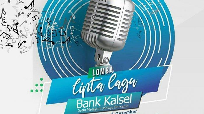 Lomba Cipta Lagu Bank Kalsel, Karya Peserta Mulai Diposting di Instagram @bankkalsel