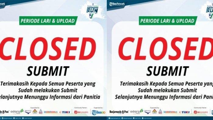 Hari Terakhir Upload Hasil Lari Bank Kalsel Antasari Virtual Run 2021